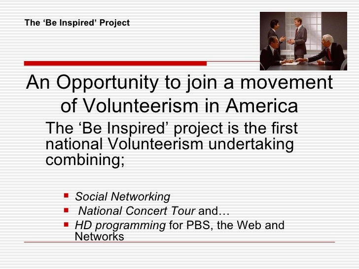 The Be Inspired Project