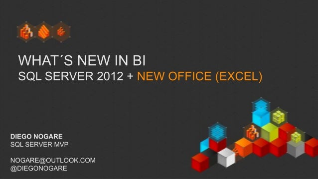 BI PASS Chapter - What´s new in BI - SQL Server 2012 + New Office