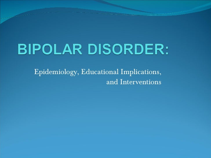 Epidemiology, Educational Implications, and Interventions