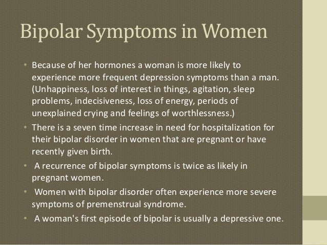 Dating girl with bipolar disorder