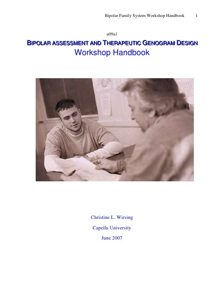u09a1<br />Bipolar assessment and Therapeutic Genogram Design <br />Workshop Handbook<br />32956522860<br />    <br />Chri...