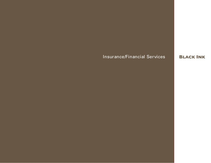 Insurance/Financial Services