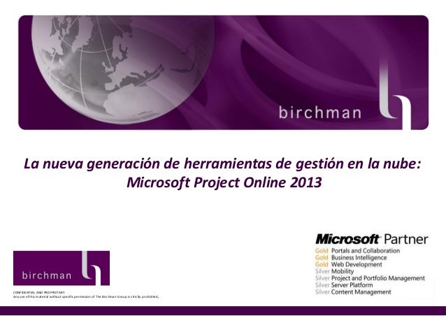 What\'s new on Microsoft Project Server 2013