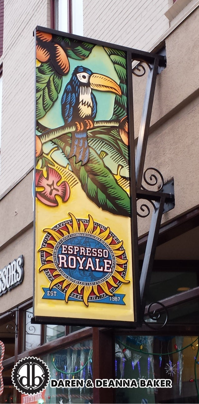 Espresso Royale Sign