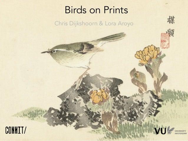 Birds on prints