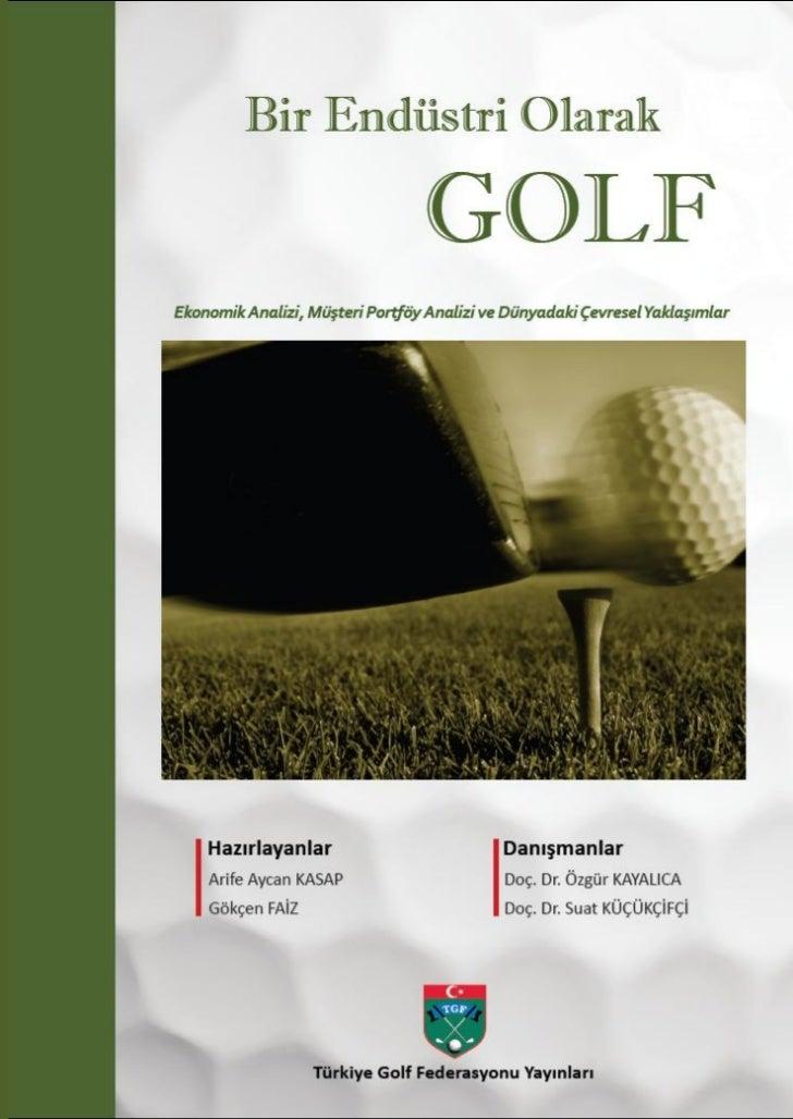Bir endustri olarak_golf