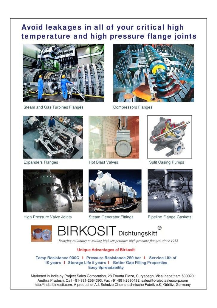 Birkosit Data Sheet for Application Areas