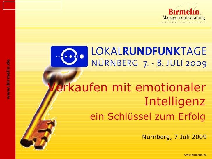 www.birmelin.de                       Verkaufen mit emotionaler                                  Intelligenz              ...