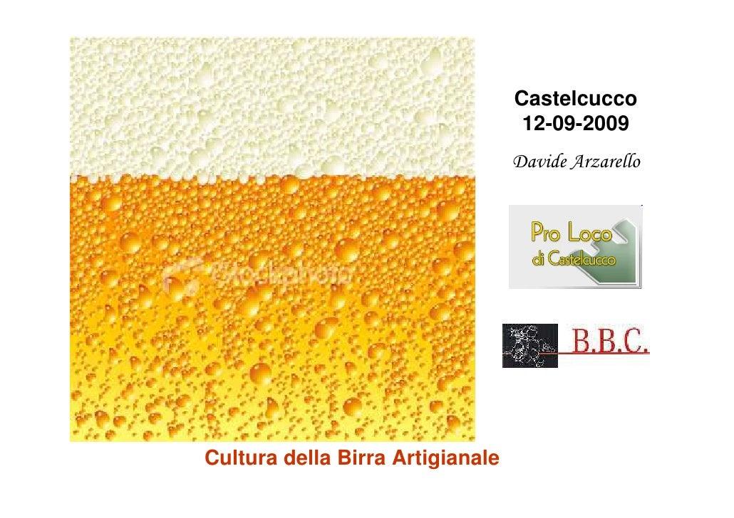 Cultura della Birra Artigianale - Castelcucco