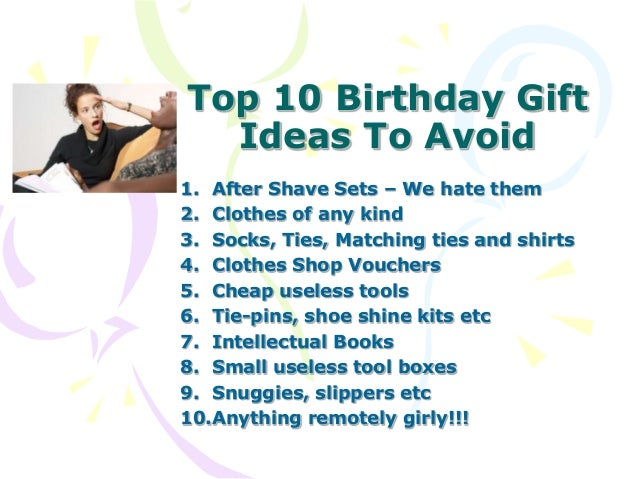 Birthday Gift Ideas For Husband Who Has Everything Gift