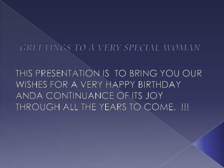 Birthday greetings!