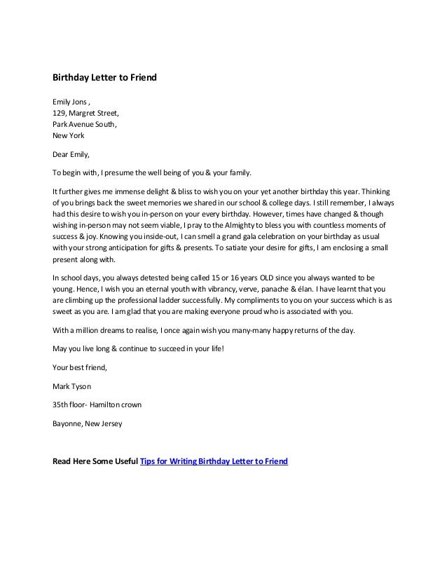 write letter to a friend Sample letters to a friend in english - about my family about my family when writing about their families, people usually tell friends about the family news and celebrations, joys and sorrows of their family this section presents sample letters in english about oneself, parents, brothers and sisters, other relatives, family habits.