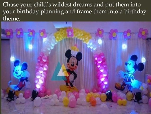Decorations To Make For A Birthday Image Inspiration of Cake and