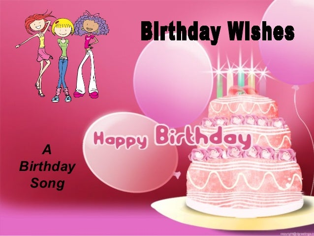 1 A Birthday Song