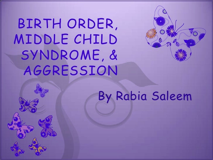 birth order term paper