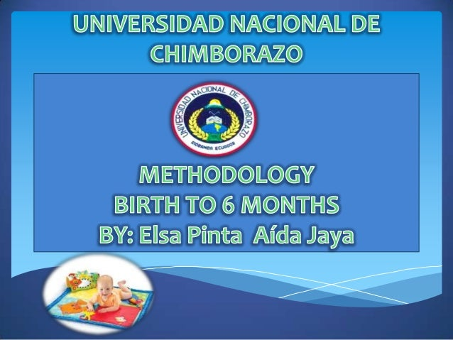 How children learn; stage Birth to 6 months