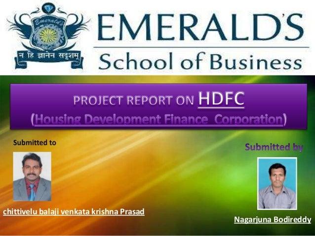 A Brief History of HDFC Bank@Nagarjuna