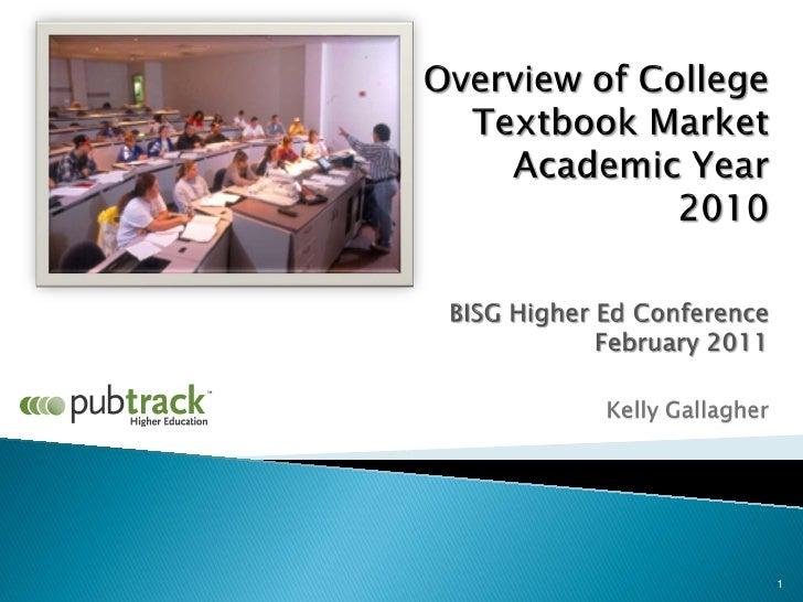 BISG's MIP for Higher Ed - Gallagher, Kelly