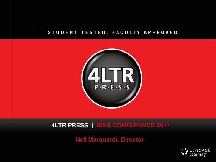 BISG's MIP for Higher Ed - Marquardt, Neil