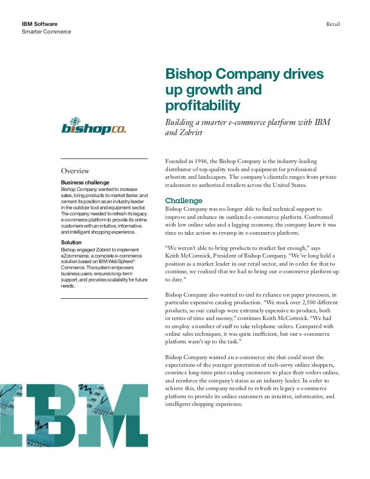 Bishop company drives up growth and profitability