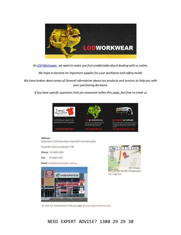 ABOUT      At LOD Workwear, we want to make you feel comfortable about dealing with us online.          We hope to become ...