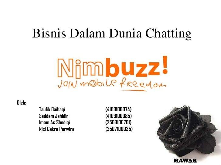 Bisnis dalam dunia chatting