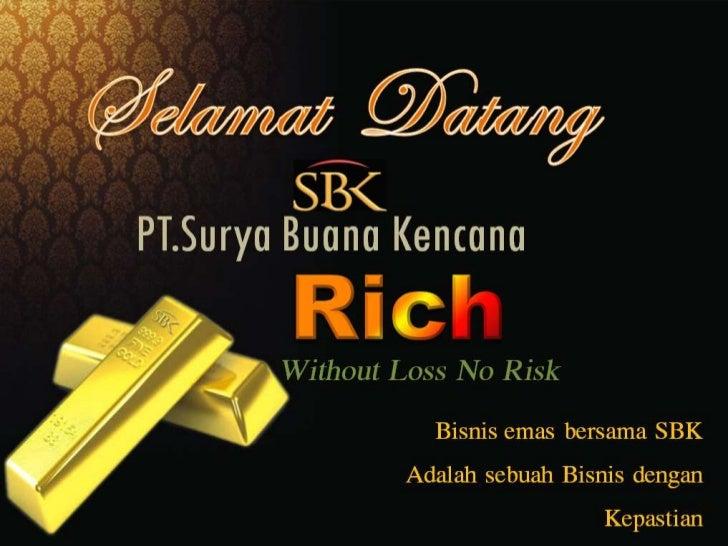 Bisnis emas tanpa resiko