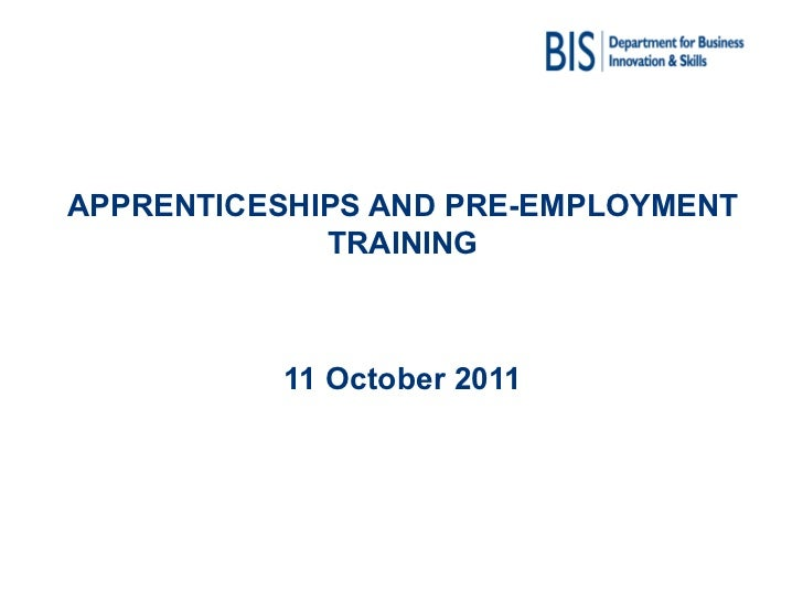 Department for Business, Innovation and Skills - Youth Unemployment