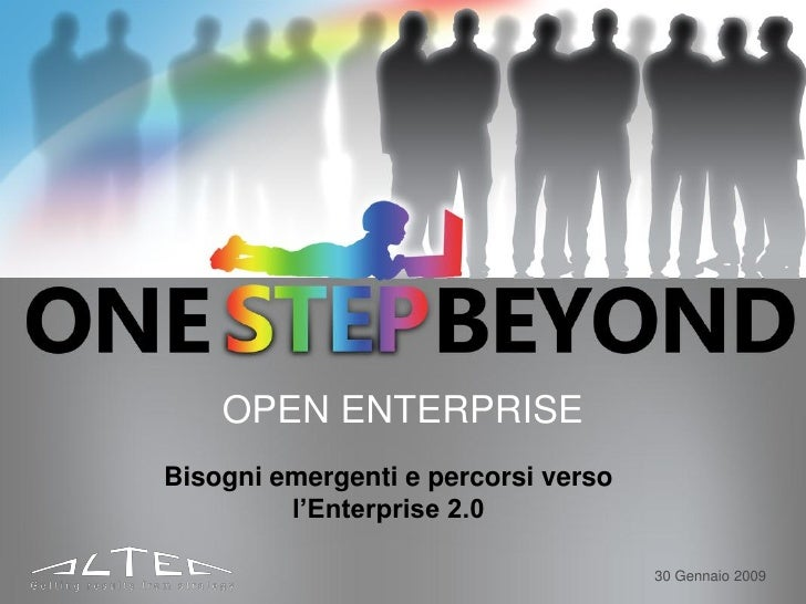 Bisogni emergenti e percorsi verso l'enterprise 2.0