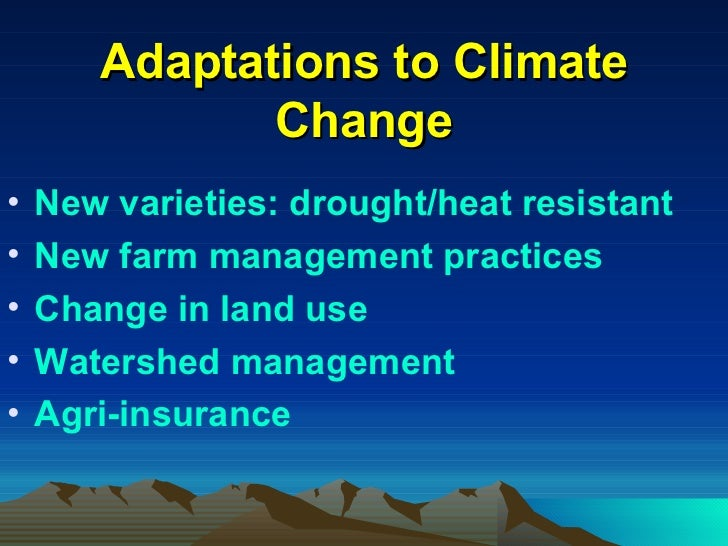 How will climate change affect food production?