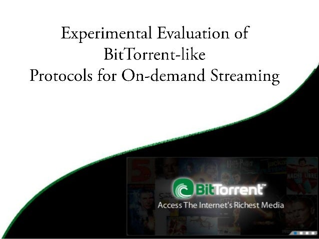 Bit torrent seminar