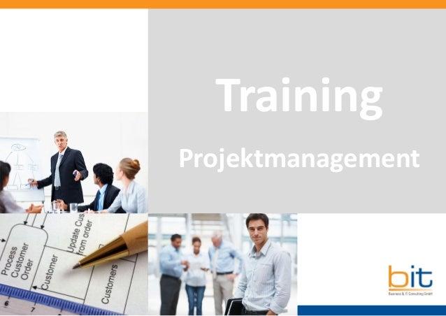 Training Projektmanagement