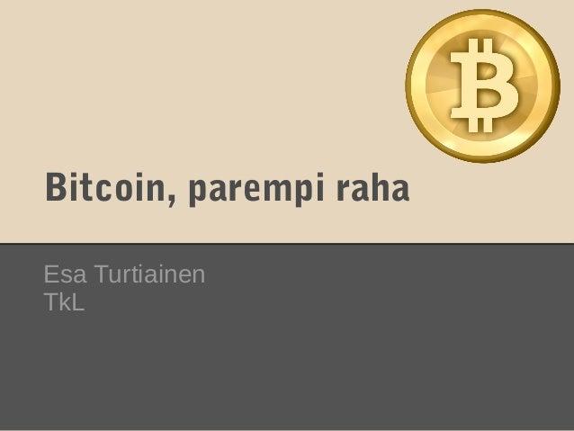 bitcoin-esitys