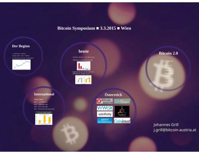 Bitcoin Status - Johannes Grill