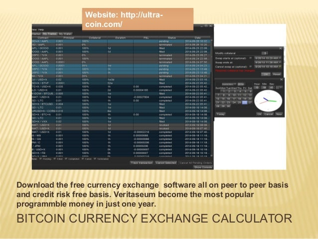 Bitcoin forex exchange