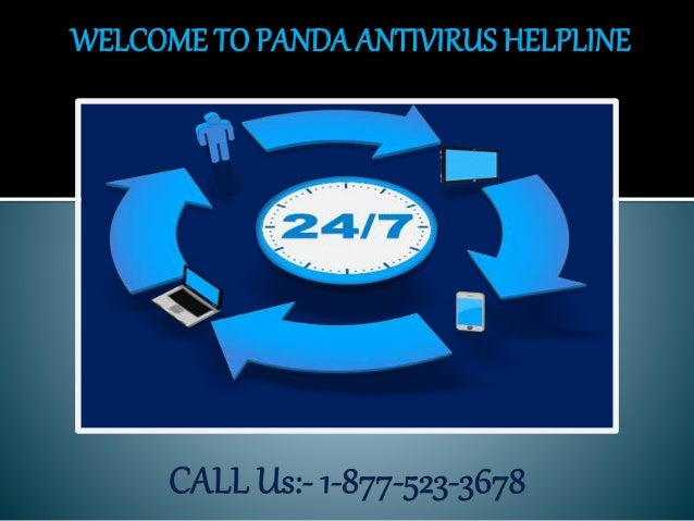 WELCOME TO PANDA ANTIVIRUS HELPLINE