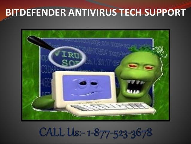 BITDEFENDER ANTIVIRUS TECH SUPPORT