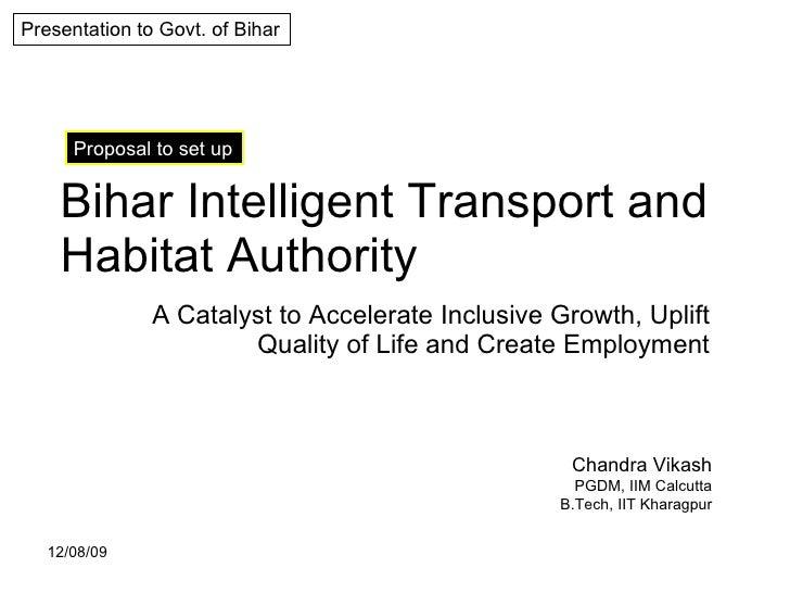 Bihar Intelligent Transport and Habitat Authority