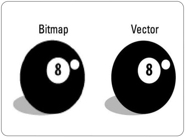 difference between bitmap and vector graphics pdf