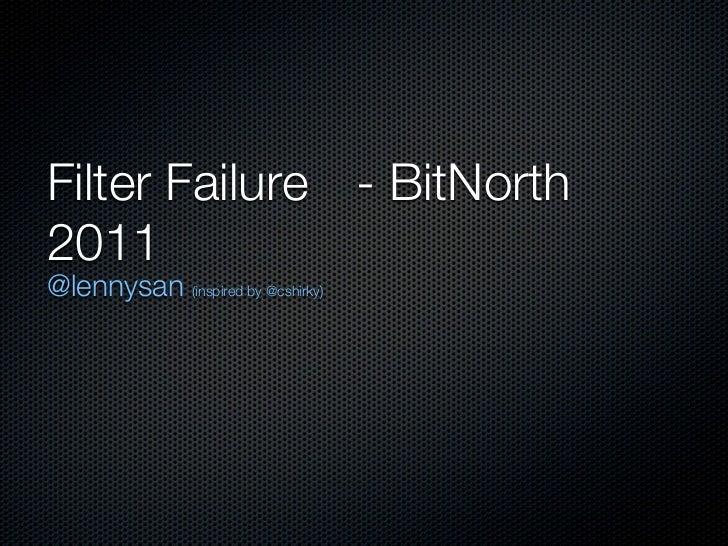 Bitnorth   2011