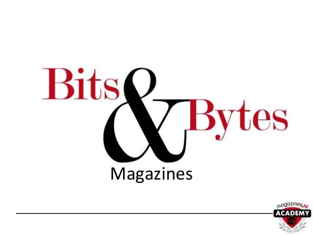 Bits and bites 2013