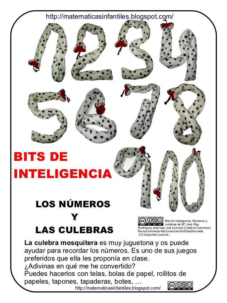 http://matematicasinfantiles.blogspot.com/BITS DEINTELIGENCIA    LOS NÚMEROS          Y                                   ...