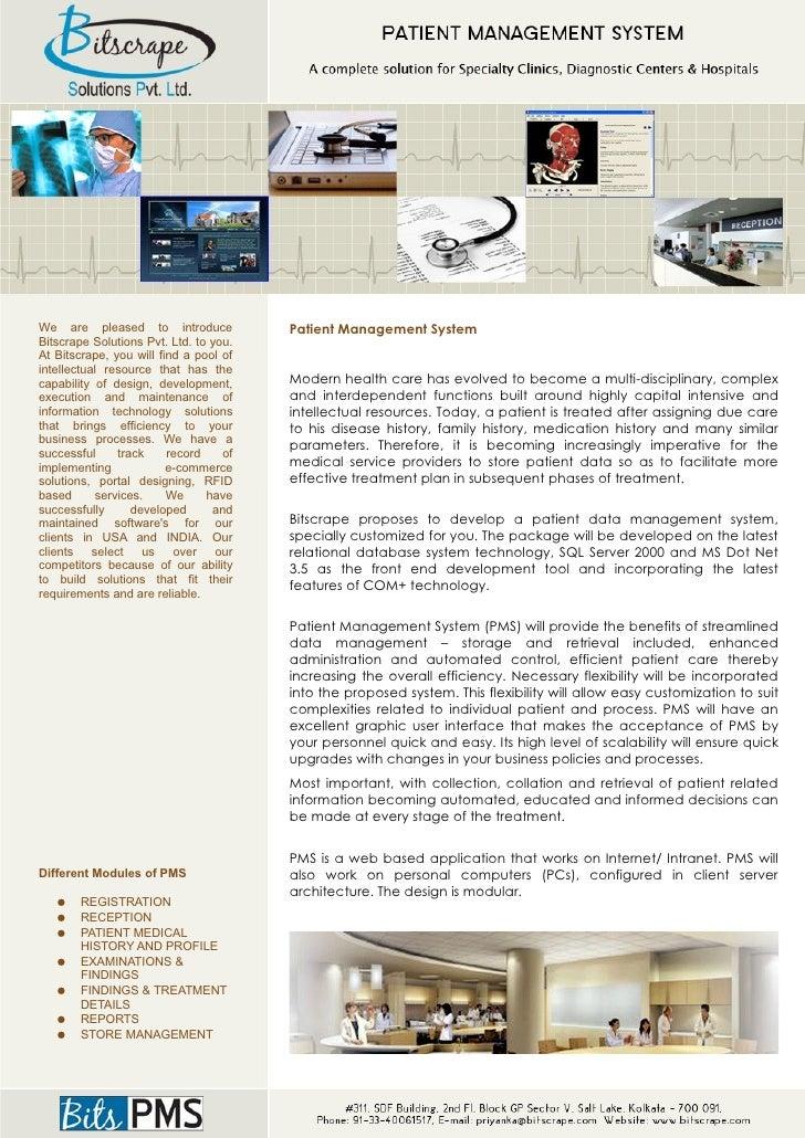BitsPMS - Patient Management System