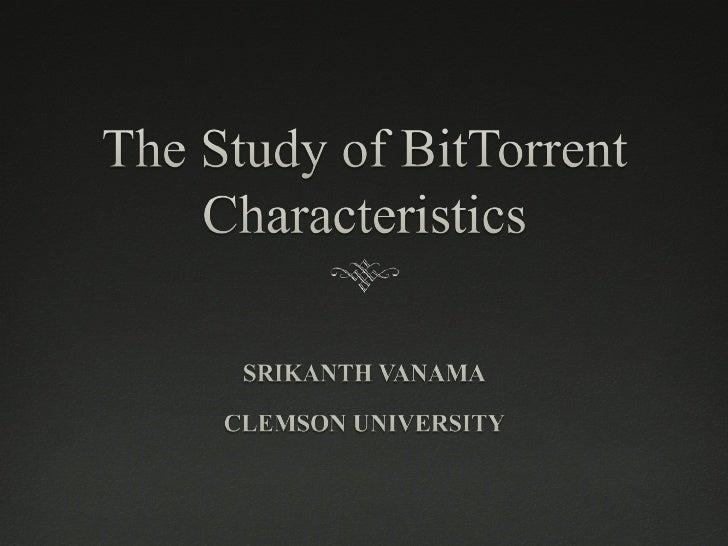 Bittorrent_project_Srikanth_Vanama