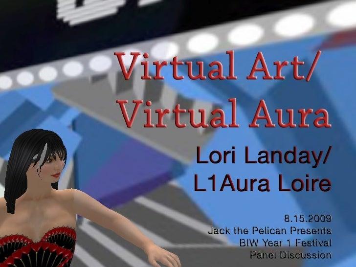 Virtual Art/Virtual Aura