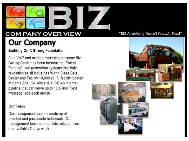 Biz Mobile Marketing Presentation