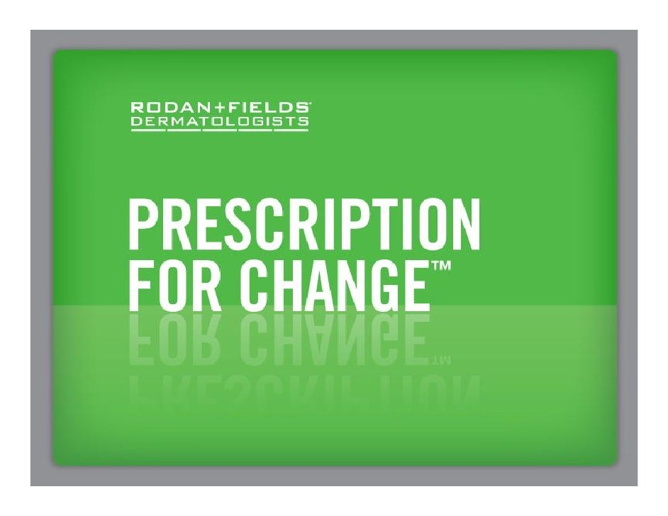 Rodan and Fields Opportunity Updated