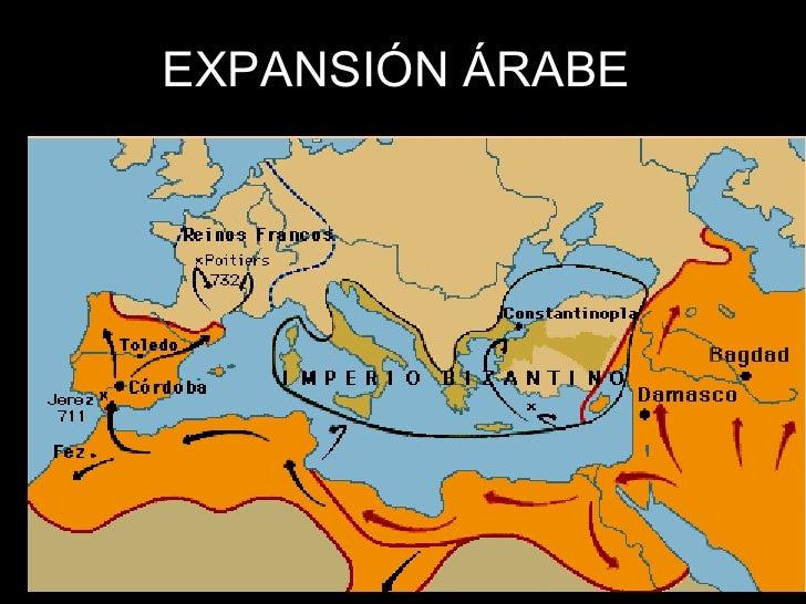 EXPANSIÓN ÁRABE