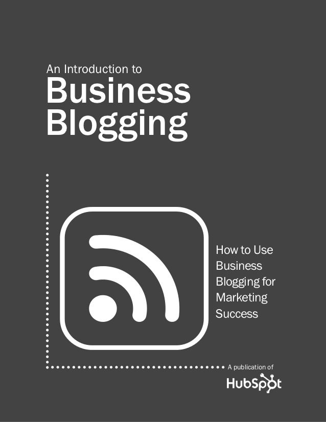 Biz Blogging Ebook April2012