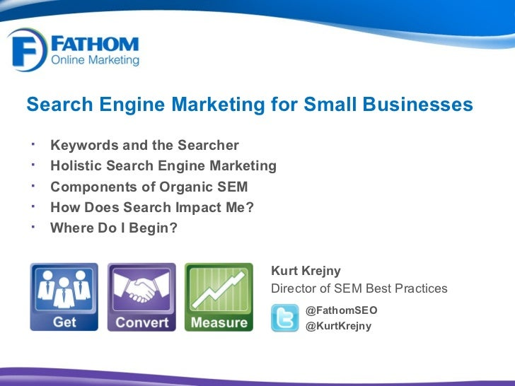 Search Engine Marketing for Small Businesses